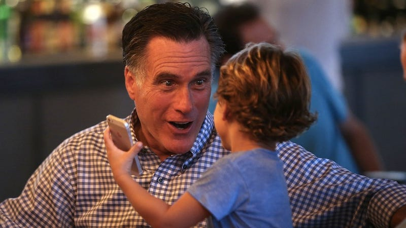 Illustration for article titled Mitt Romney Is the World's Greatest Grandpa. Seriously.