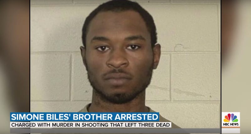 Illustration for article titled Simone Biles's Brother Charged With Triple Murder