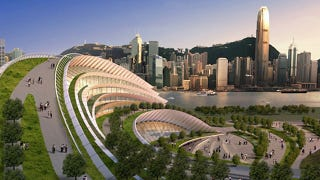 Illustration for article titled World's Largest Underground High-Speed Rail Station Will be Spectacular, Surreal-Looking