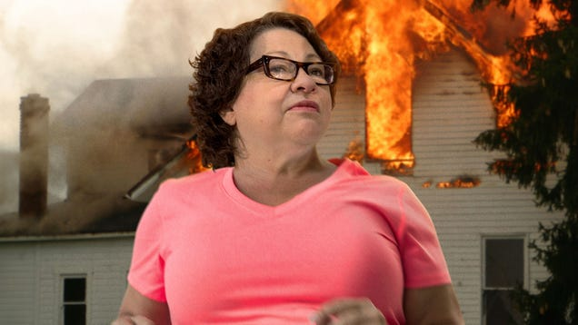 Sonia Sotomayor Narrowly Survives Gas Leak Explosion