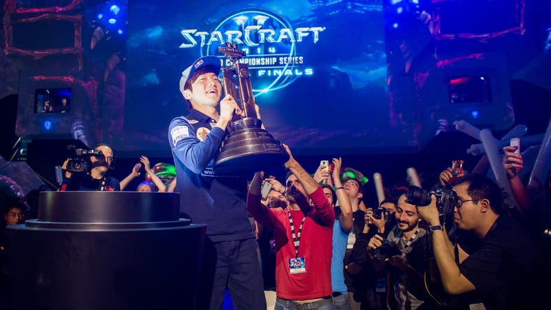 Illustration for article titled 2014 StarCraft World Champion Taken Into Custody In South Korea