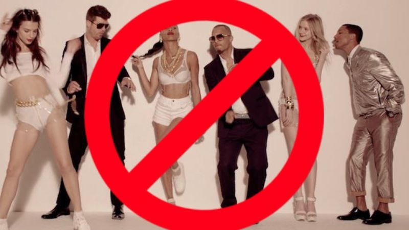 "Illustration for article titled Marvin Gaye's family wants to halt all sales of ""Blurred Lines"""