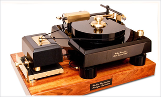 Illustration for article titled This Turntable Probably Costs More than Anything in Your House and Weighs More than You