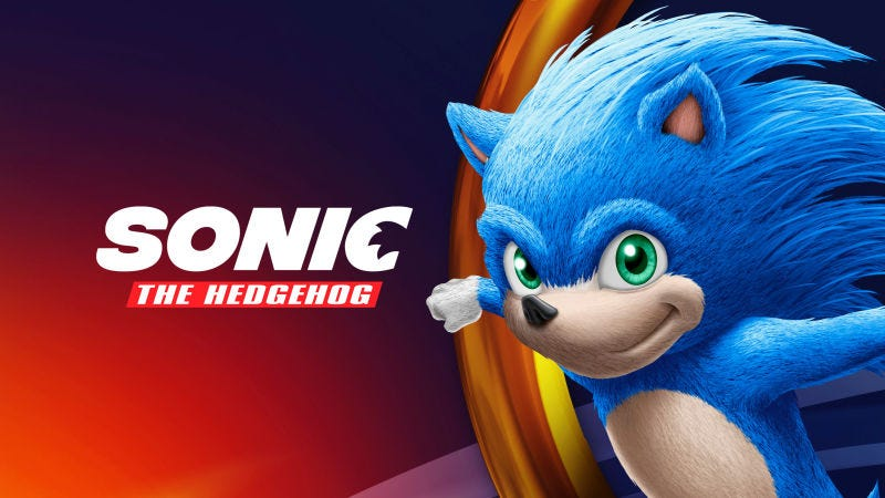 Illustration for article titled Este es, muy probablemente, el aspecto que tendrá Sonic en su próxima película
