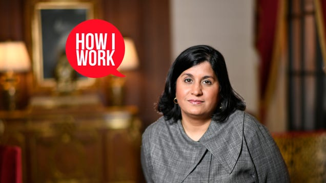 I m Maya Ajmera, Publisher of  Science News,  and This Is How I Work