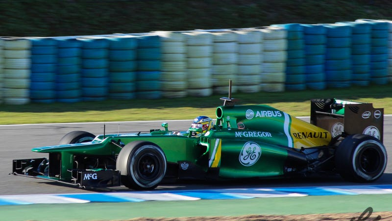Illustration for article titled All F1 seats are taken - Caterham confirms Kobayashi and Ericsson.