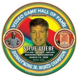 Illustration for article titled Steve Wiebe Gets A Donkey Kong World Record