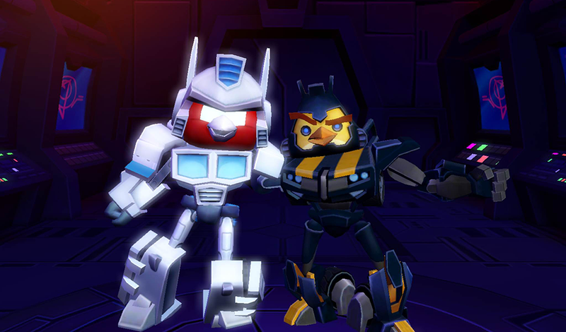 Illustration for article titled Angry Birds Transformers Is Out Today. Fans Should Grab It.