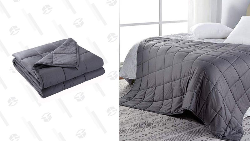"Anjee Weighted Blanket, 12 Pounds | $35 | Amazon Clip coupon and use promo code JDVCMATKAnjee Weighted Blanket, 15 Pounds, 48"" x 72"" 