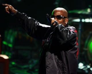 Rapper DMX is back in jail.