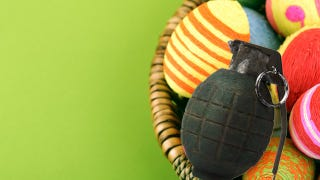 Illustration for article titled A Three-Year-Old Boy Found a Live Grenade During an Easter Egg Hunt