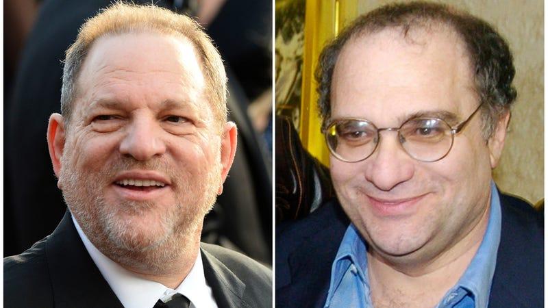 Harvey and Bob Weinstein. Image via AP.