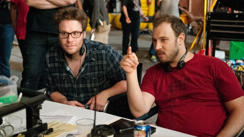 Illustration for article titled How Seth Rogen and Evan Goldberg turned their fear of Jesus into an ensemble comedy