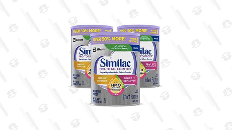 Get 40% Off Your First Order of Similac Pro-Total Comfort Infant Formula