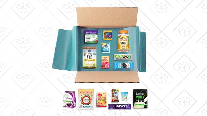 New Year New You Sample Box + $15 credit, $15