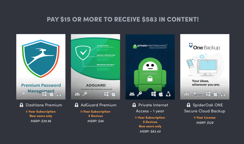 Humble Cyber Security Bundle