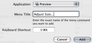 Illustration for article titled Create a Keyboard Shortcut for Any Menu Action in Any Program