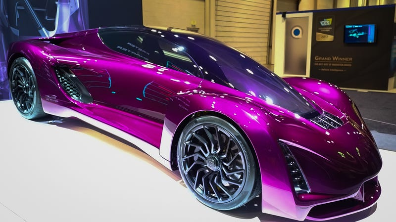 This Batshit Sports Car Was 3D Printed From Laser-Melted Metal