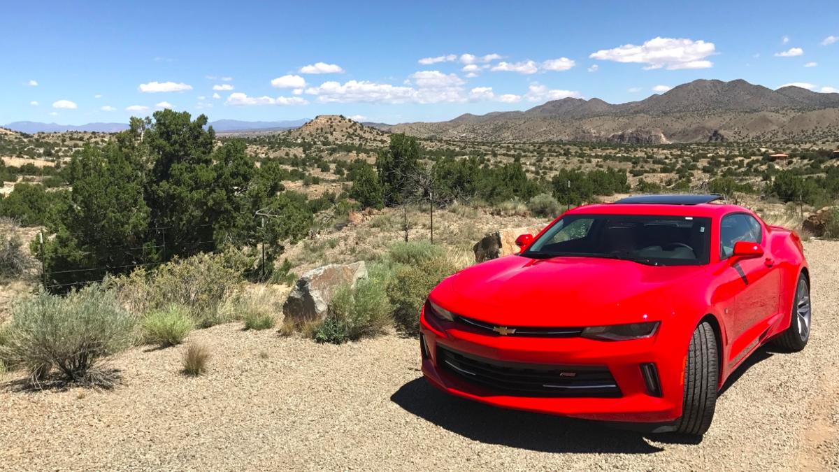 2017 Chevrolet Camaro V6 - The OppositeLock Rental Review