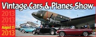 Illustration for article titled Vintage Cars and Planes Show
