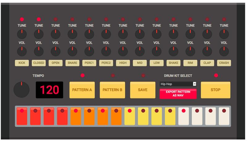 drum machine online