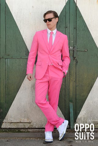 Illustration for article titled I just ordered a pink suit
