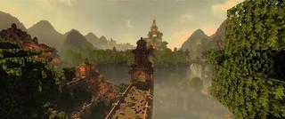 Illustration for article titled Los mapas de Uncharted, God of War e Infamous recreados en Minecraft