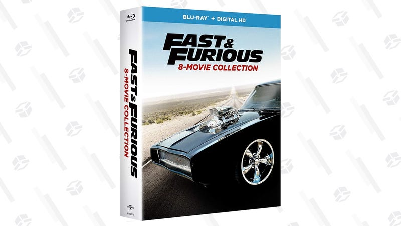 Fast & Furious 8-Movie Collection | $30 | Amazon