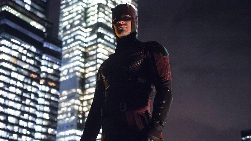 Charlie Cox as Daredevil in the Netflix series Daredevil