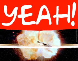 Illustration for article titled iPhone Free Software Unlock Confirmed (Death Star Explodes)