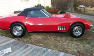 Illustration for article titled For $24,950, Little Red Corvette