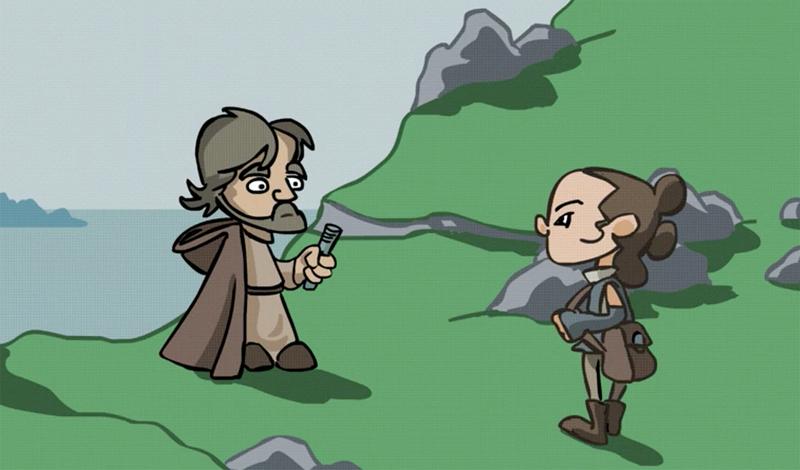 Illustration for article titled Los siete mejores cortos de Star Wars del año, según Lucasfilm