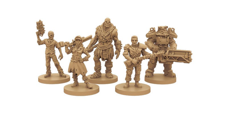 Illustration for article titled Fallout's New Board Game Looks Neat