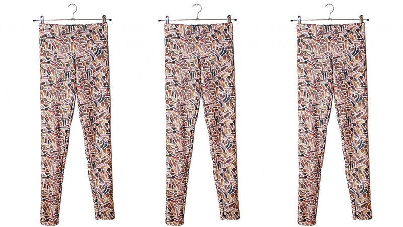 Illustration for article titled Wearing These Penis Leggings Will Turn You Into a Total Dick