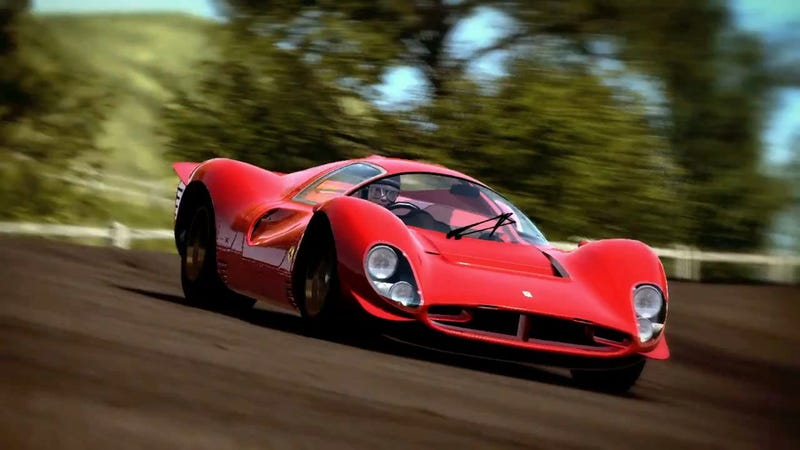 Illustration for article titled The Best Part Of Test Drive: Ferrari Racing Legends Is A Magnum, P.I. Reference