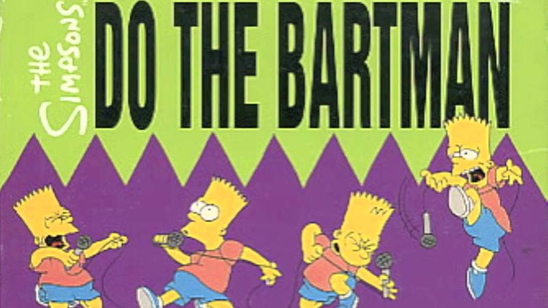 "Illustration for article titled Rights to ""Do The Bartman"" worth $38.5k, songwriting credit apparently priceless"