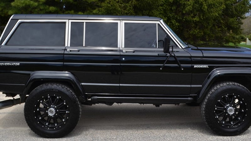 Grand Wagoneer 2018 >> For $85,000, This 1984 Jeep Grand Wagoneer Ain't For No ...