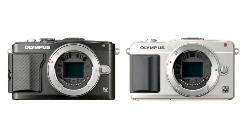 Illustration for article titled Are These Olympus' Latest Micro Four-Thirds Cameras?