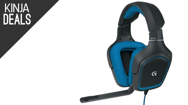 Illustration for article titled Logitech's G430 Headset is Down to a New Low Price Today