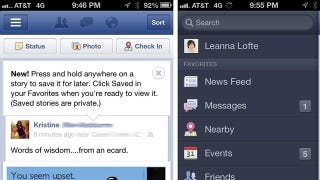 Illustration for article titled Facebook Wants to Be Your Instapaper Now, Too