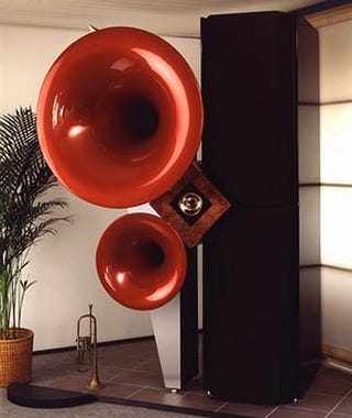 Illustration for article titled Sphäron Excalibur Speakers May Cost $380,700, But At Least They're Huge