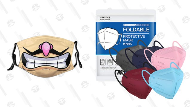 Snag 40% off of a 25-Pack of KN95 Masks in a Deal You May Want To Double-up On