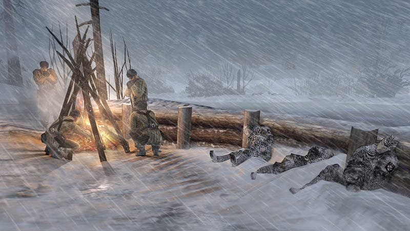 Illustration for article titled Cold is the Deadliest Weapon in Company of Heroes 2
