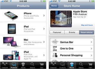 Illustration for article titled Apple Store App Invades App Store In Time For iPhone 4 Pre-Orders
