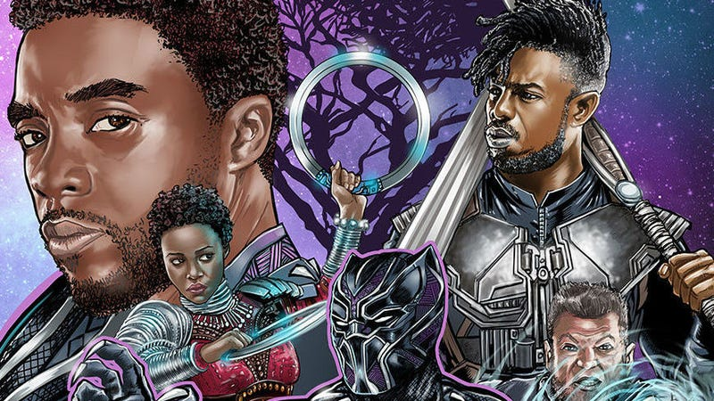 A crop of Black Panther by Kirk Manley