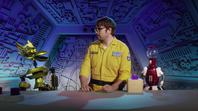 the first trailer for the return of mystery sscience theater 3000 is cheesy in all the right ways