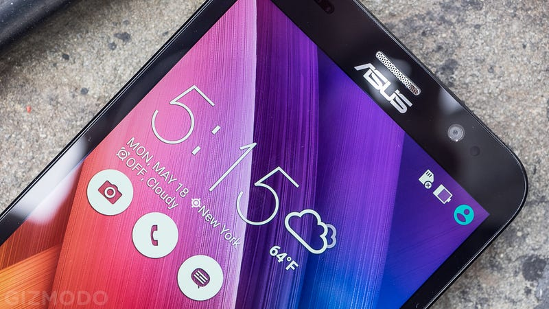 Illustration for article titled ASUS Zenfone 2 Hands-On: Less Than Meets The Eye