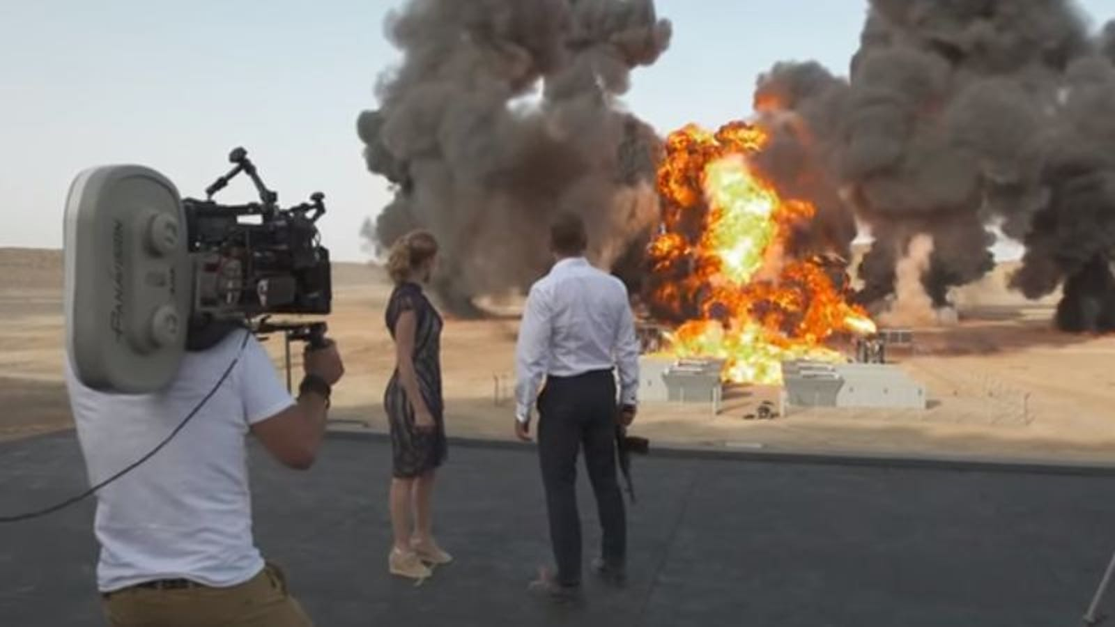 Spectre Sets Record For Biggest Explosion In Cinematic History
