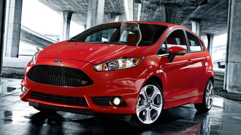 Illustration for article titled 2014 Ford Fiesta ST: Meet The US-Bound Mini Me Of The Hot Hatch World