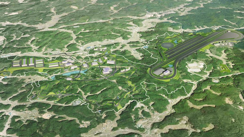 Illustration for article titled Toyota Built Its Very Own Mini-Nürburgring Right in Its Backyard